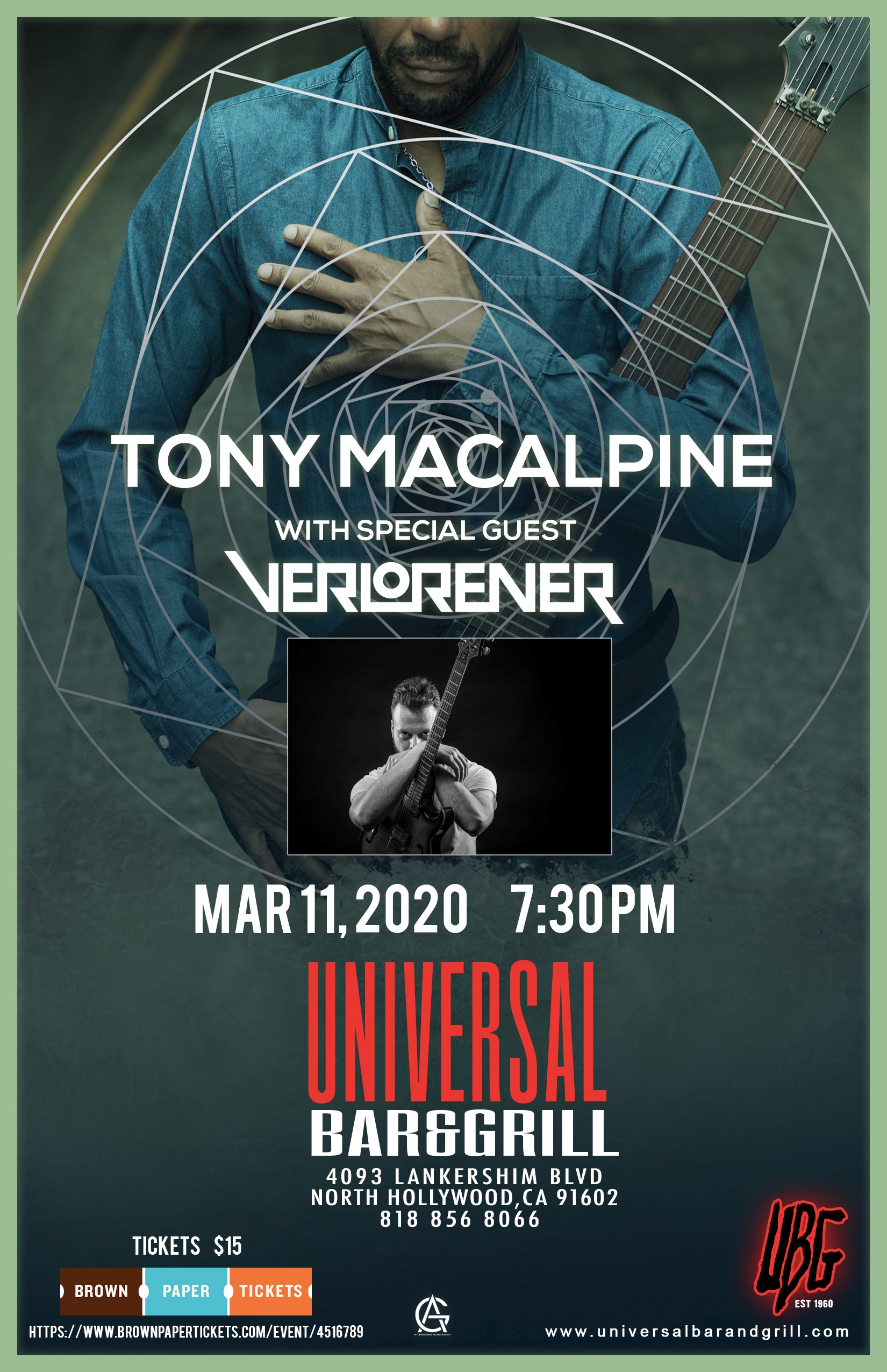 Tony MacAlpine March 11th 2020